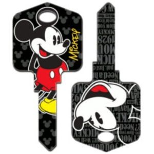 Mickey Mouse House Key